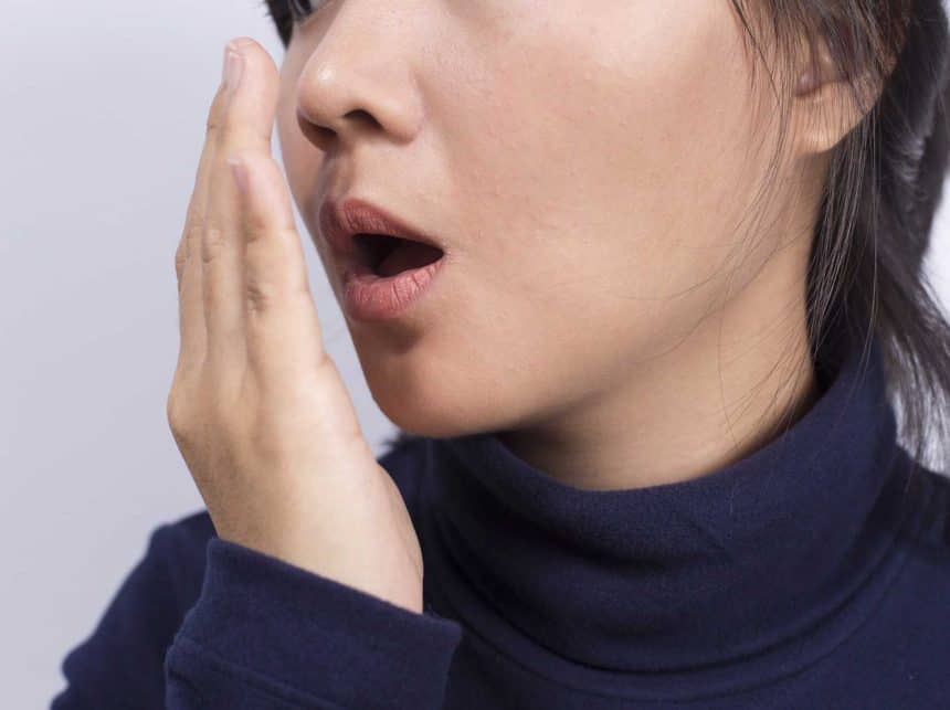 Why do I get bad breath in the mornings?